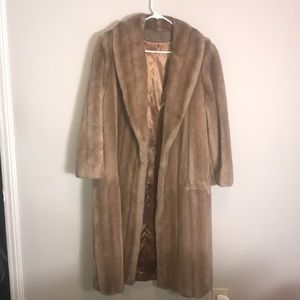 Vintage 1960's Faux Fur by Tissavel France /Sears